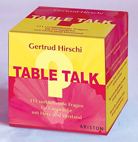 Gertrud Hirschi Table Talk Fragekarten