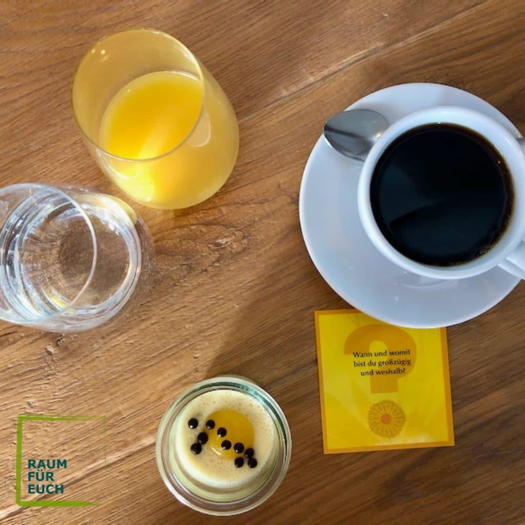Table Talk beim Frühstück