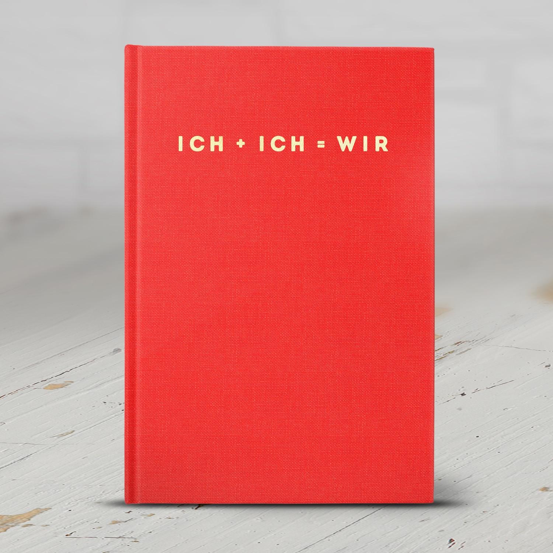 ICH + ICH = WIR Buch für Paare zum Ausfüllen
