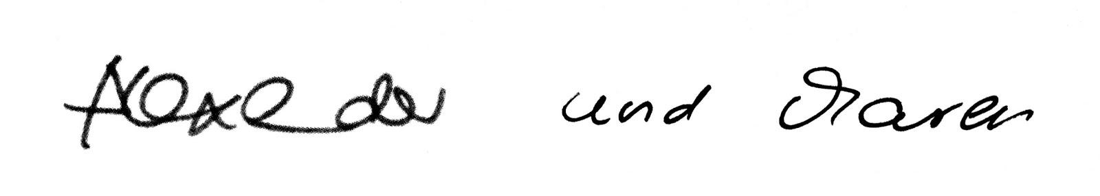 Unterschrift Alexander Maren