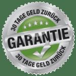 30 Tage Geld-zurück Garantie auf den Onlinekurs