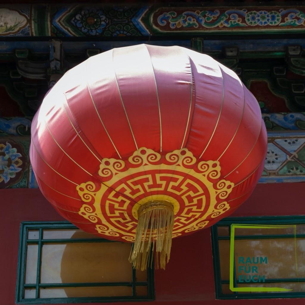 Chinesischer Ballon - Liebe heißt glückliches Leben