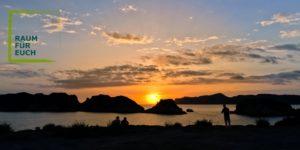 Veränderung Sonnenuntergang