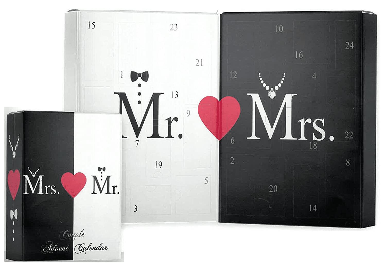 Adventskalender für Paare - Mr. Mrs.
